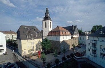 Kirchenplatz von der Rueckseite