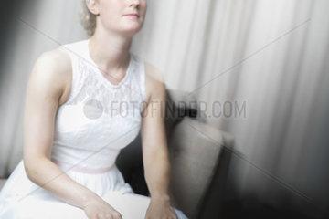 Wartende Braut