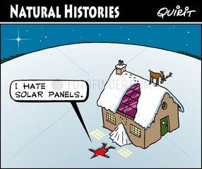 Santa and Solar Panels