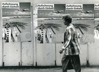 DDR  Wahlplakate der SPD  Volkskammerwahl 1990