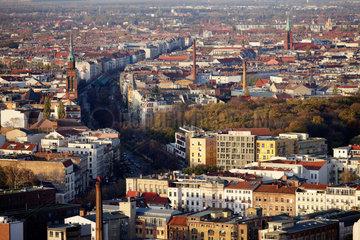 Berlin  Deutschland  Panorama von Berlin