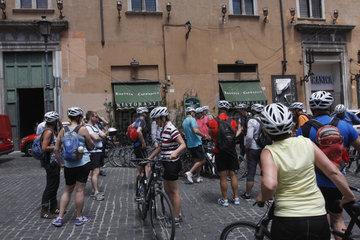Rad Stadtfuehrung im Rom