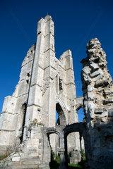 Ablain-Saint-Nazaire  Frankreich  Ruine der Alten Kirche