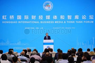 CHINA-SHANGHAI-BUSINESS MEDIA & THINK TANK-FORUM (CN)