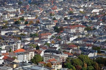 Frankfurt/Main  Deutschland  Wohnviertel im Nordosten von Frankfurt