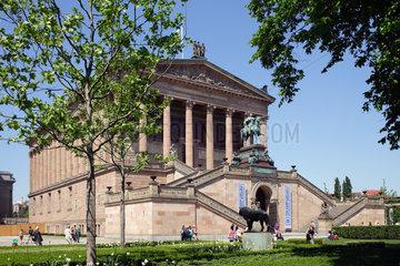 Berlin  Deutschland  das Neue Museum auf der Museumsinsel