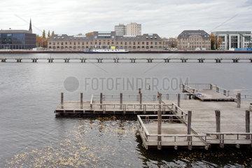Berlin  Deutschland  der ehemalige Osthafen in Berlin-Friedrichshain