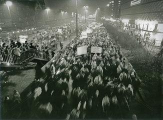Montagsdemo  Leipzig  DDR  1989
