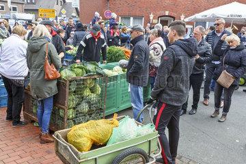 Kappesmarkt in Raesfeld  Westfalen