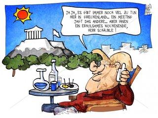 Merkel in Athen