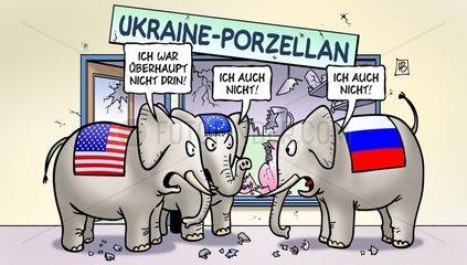 Ukraine-Porzellan
