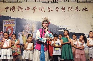 #CHINA-JIANGSU-TAIZHOU-OPERA POPULARIZATION (CN)