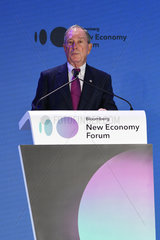 SINGAPORE-NEW ECONOMY FORUM-BLOOMBERG