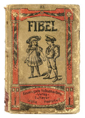 alte Fibel  Schulfibel  1918