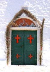 Serie Griechenland Paros Eingang Kloster Logovarda