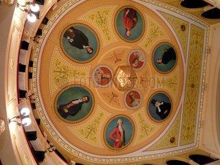 Griechenland Syros Theater Apollon Deckengemaelde