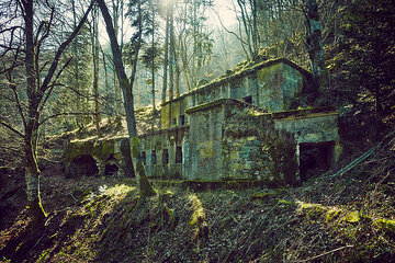 Verfallene Kaserne Hartmannsweilerkopf