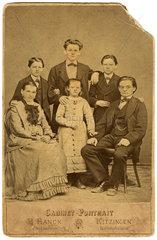 Familienportrait  Kitzingen  1885