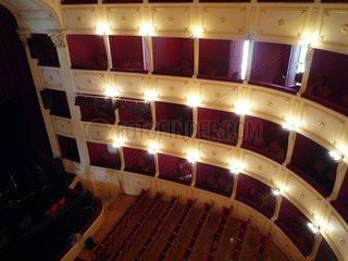 Griechenland Syros Theater Apollon