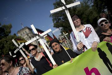 Women's March  Frauenmarsch