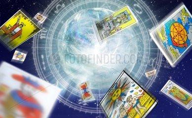 Astrologie Tarot Wahrsager Horoskop