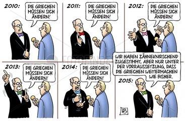Griechenland-Zustimmung