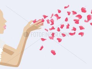 Serie Heirat - Blumen