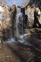 Waterfall in Shenandoah National Park  Virginia  USA