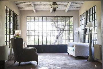 Home interior  sunroom