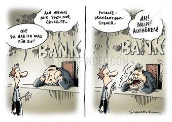 Sarkozy kuendigt Finanztransaktionssteuer fuer Frankreich an