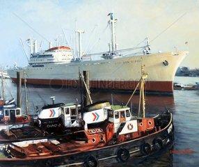 Museumsschiff Cap San Diego Hamburger Hafen