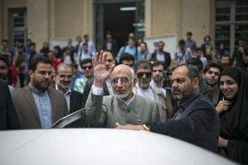 IRAN-TEHRAN-MIRSALIM-ELECTION RALLY