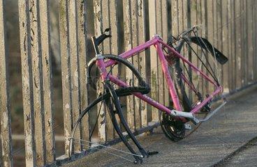 Fahrrad-Wrack