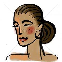 Serie Portrait - Spanish woman