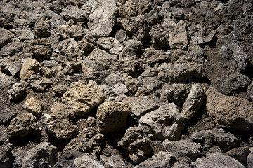 Volcanic rock  full frame