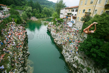 (SP)SLOVENIA-KANAL-ANNUAL DIVING COMPETITION