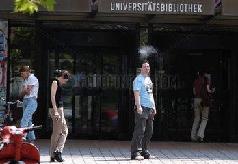 Sommer auf dem Campus
