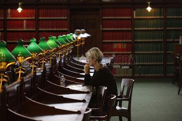 Lesesaal der Koenigliche Bibliothek in Kopenhagen