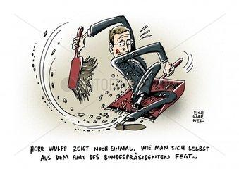 Ruecktritt Wullf Amt Bundespraesident