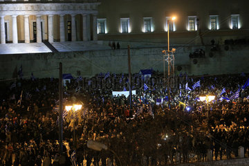 GREECE-ATHENS-DEMONSTRATION-MACEDONIA-NAME DEAL