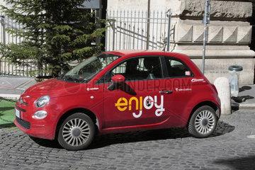 Enjoy car sharing in Rom