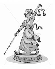 JUSTITIA in Aktion