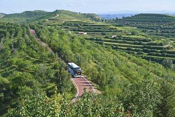 CHINA-NINGXIA-GUYUAN-LIUPANSHAN (CN)