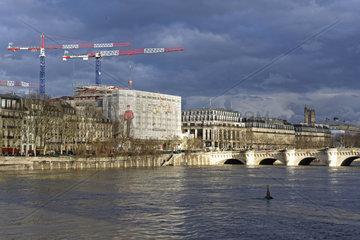 FRANCE - PARIS - 2018 SEINE RIVER FLOODS