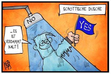 Schottische Dusche