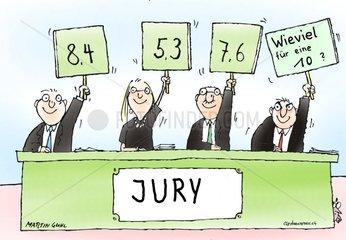 Wettbewerb Jury