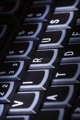 Computertastatur mit Wort Virus Computer keyboard with word Virus