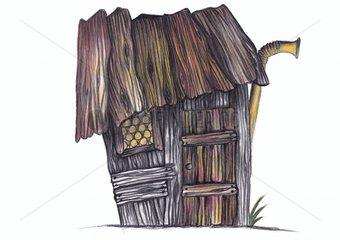 Huette hut