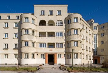 Wie  Oesterreich  der Karl Seitz-Hof im 21. Wiener Gemeindebezirk Floridsdorf