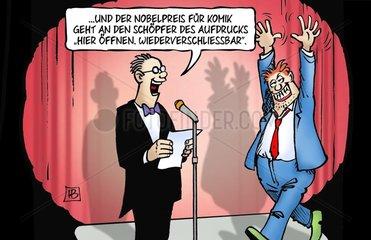 Nobelpreis fuer Komik